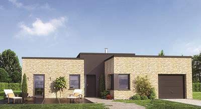 Maisons + Terrains du constructeur MAISON FAMILIALE • 100 m² • LAPUGNOY
