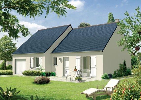 Maisons + Terrains du constructeur MAISON FAMILIALE • 90 m² • MAZINGARBE