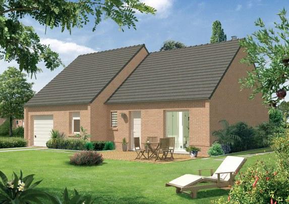 Maisons + Terrains du constructeur MAISON FAMILIALE • 89 m² • HENIN BEAUMONT