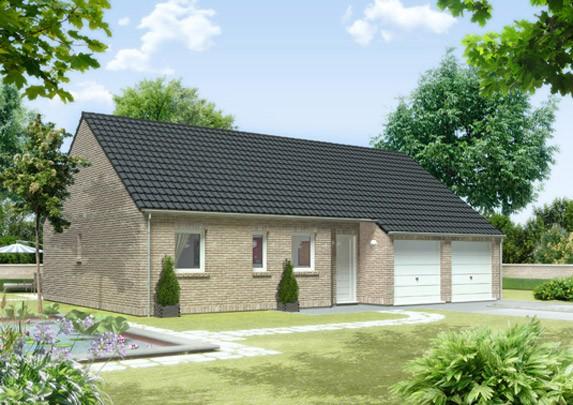 Maisons + Terrains du constructeur MAISON FAMILIALE • 99 m² • THELUS