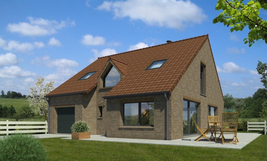 Maisons + Terrains du constructeur MAISON FAMILIALE • 109 m² • CARVIN