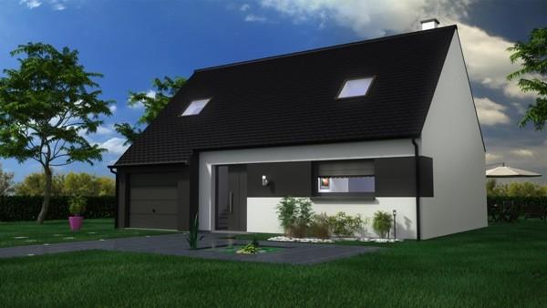 Maisons + Terrains du constructeur MAISON CASTOR LENS • 104 m² • VAUDRICOURT