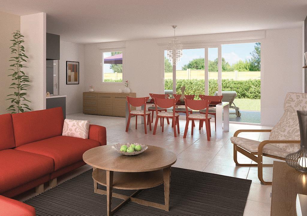 Maisons + Terrains du constructeur MAISON CASTOR LENS • 104 m² • GIVENCHY EN GOHELLE