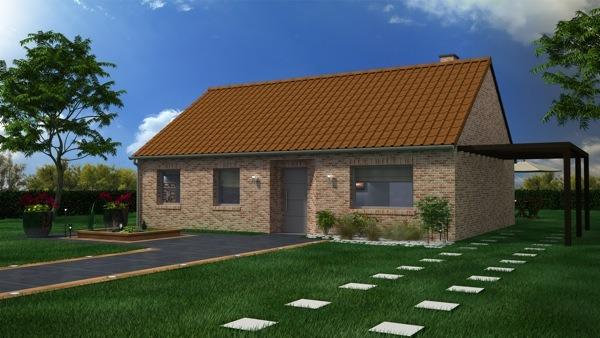 Maisons + Terrains du constructeur MAISON CASTOR LENS • 95 m² • AIX NOULETTE