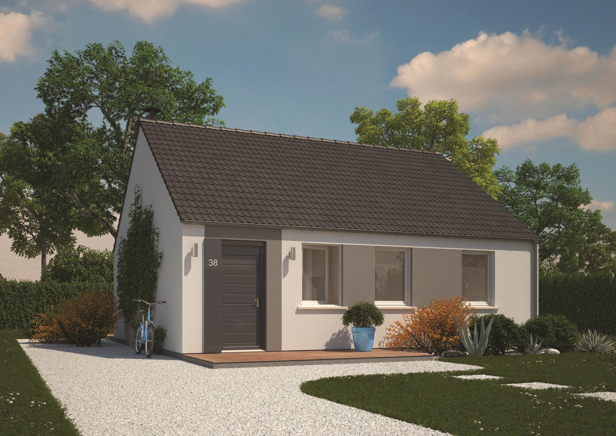 Maisons + Terrains du constructeur MAISONS PHENIX LEZENNES • 70 m² • RACHES