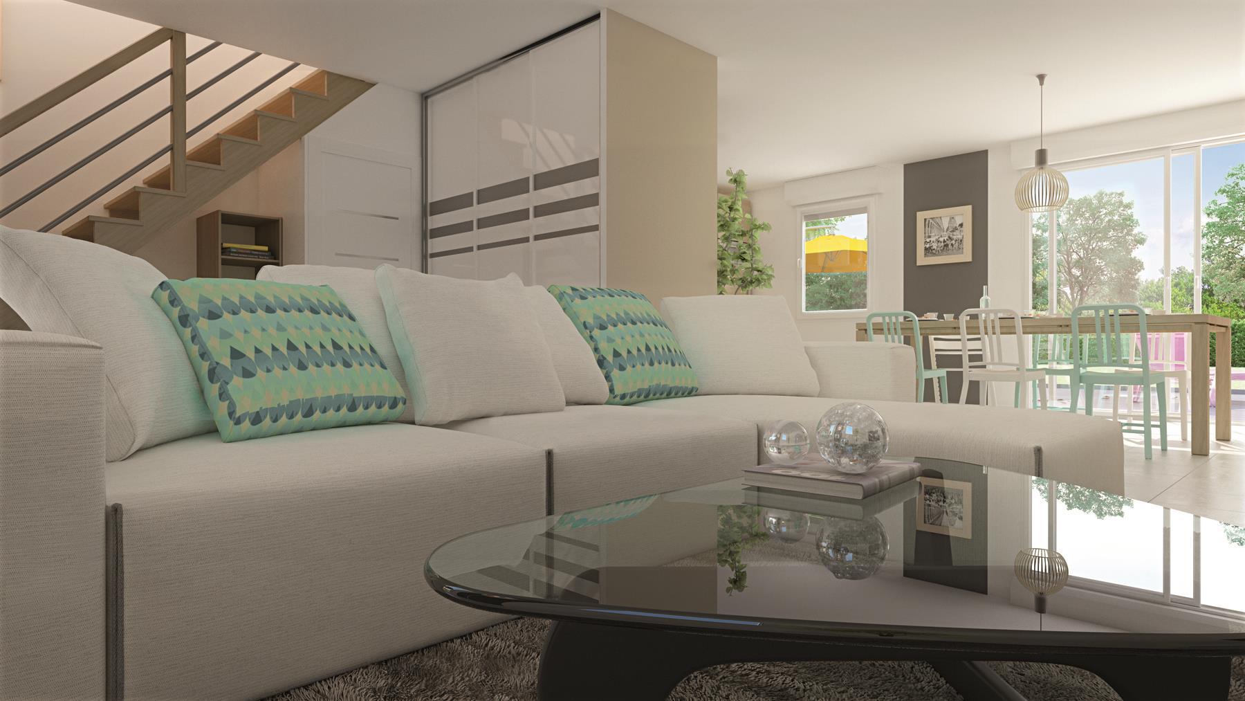 Maisons + Terrains du constructeur MAISONS PHENIX LEZENNES • 107 m² • ROOST WARENDIN