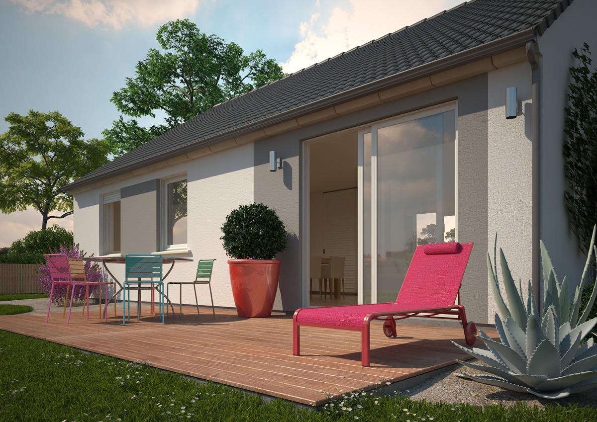 Maisons + Terrains du constructeur MAISONS PHENIX LEZENNES • 99 m² • RACHES