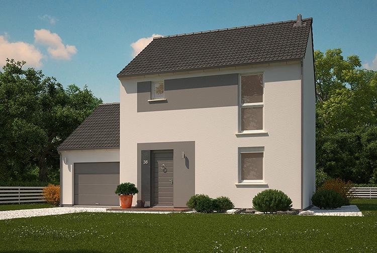 Maisons + Terrains du constructeur MAISONS PHENIX LEZENNES • 90 m² • COUTICHES