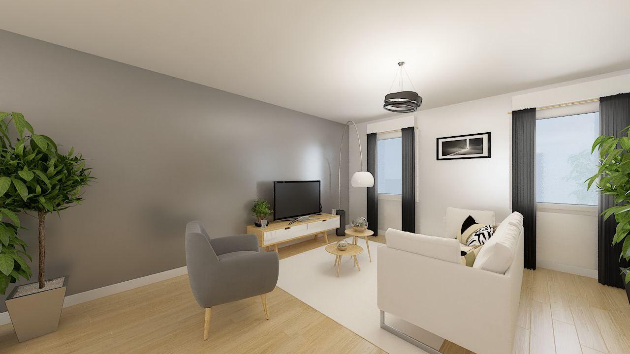 Maisons + Terrains du constructeur MAISONS PHENIX LEZENNES • 90 m² • BAILLEUL