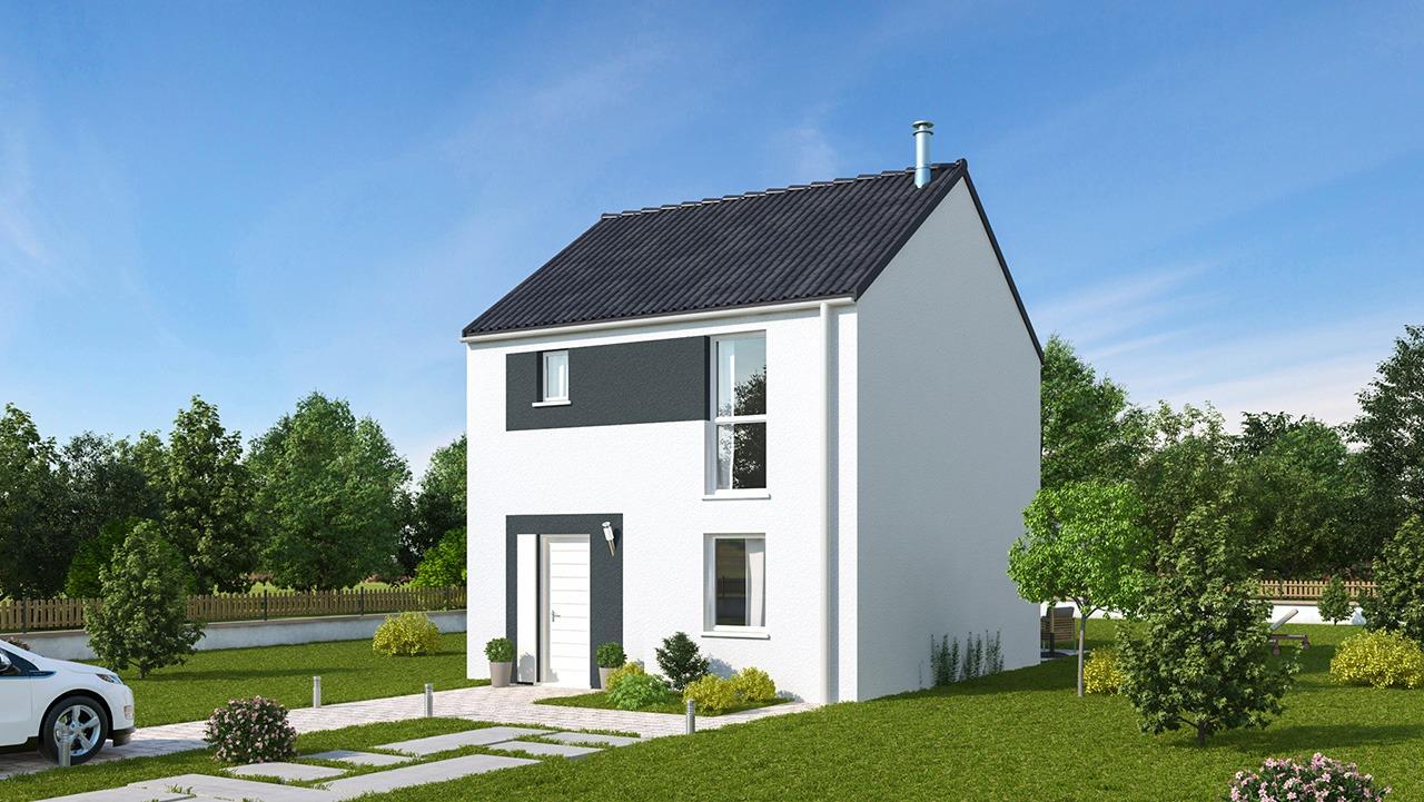 Maisons + Terrains du constructeur MAISONS PHENIX LEZENNES • 82 m² • LA BASSEE