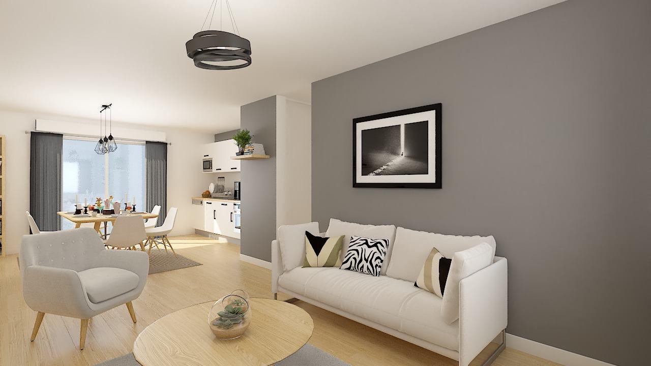 Maisons + Terrains du constructeur MAISONS PHENIX LEZENNES • 70 m² • COUTICHES