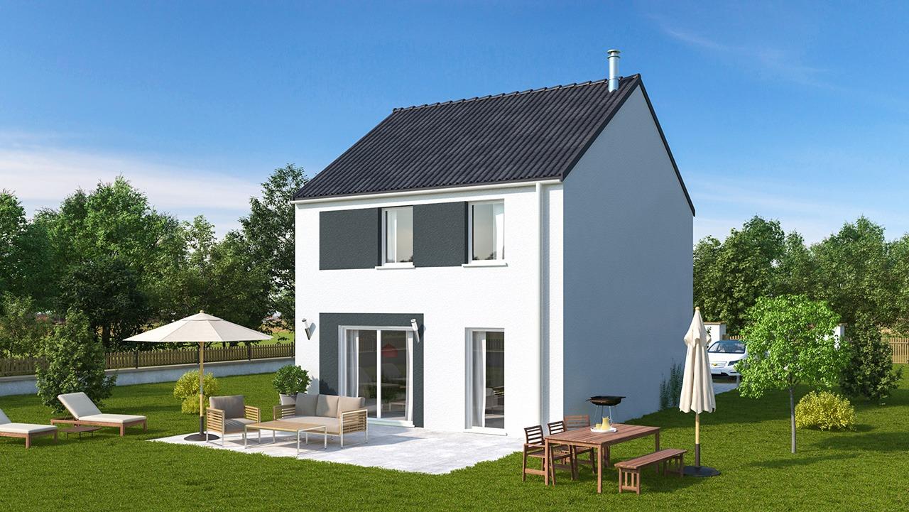 Maisons + Terrains du constructeur MAISONS PHENIX LEZENNES • 92 m² • LA BASSEE
