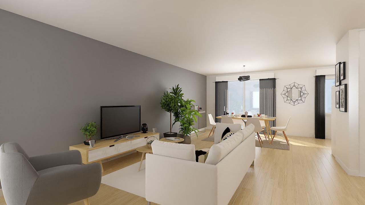 Maisons + Terrains du constructeur MAISONS PHENIX LEZENNES • 89 m² • ESTAIRES
