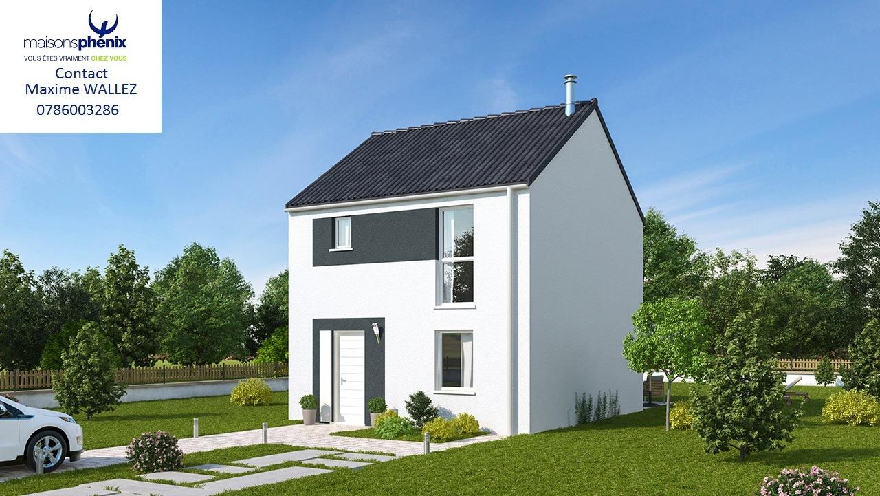 Maisons + Terrains du constructeur MAISONS PHENIX LEZENNES • 82 m² • SECLIN