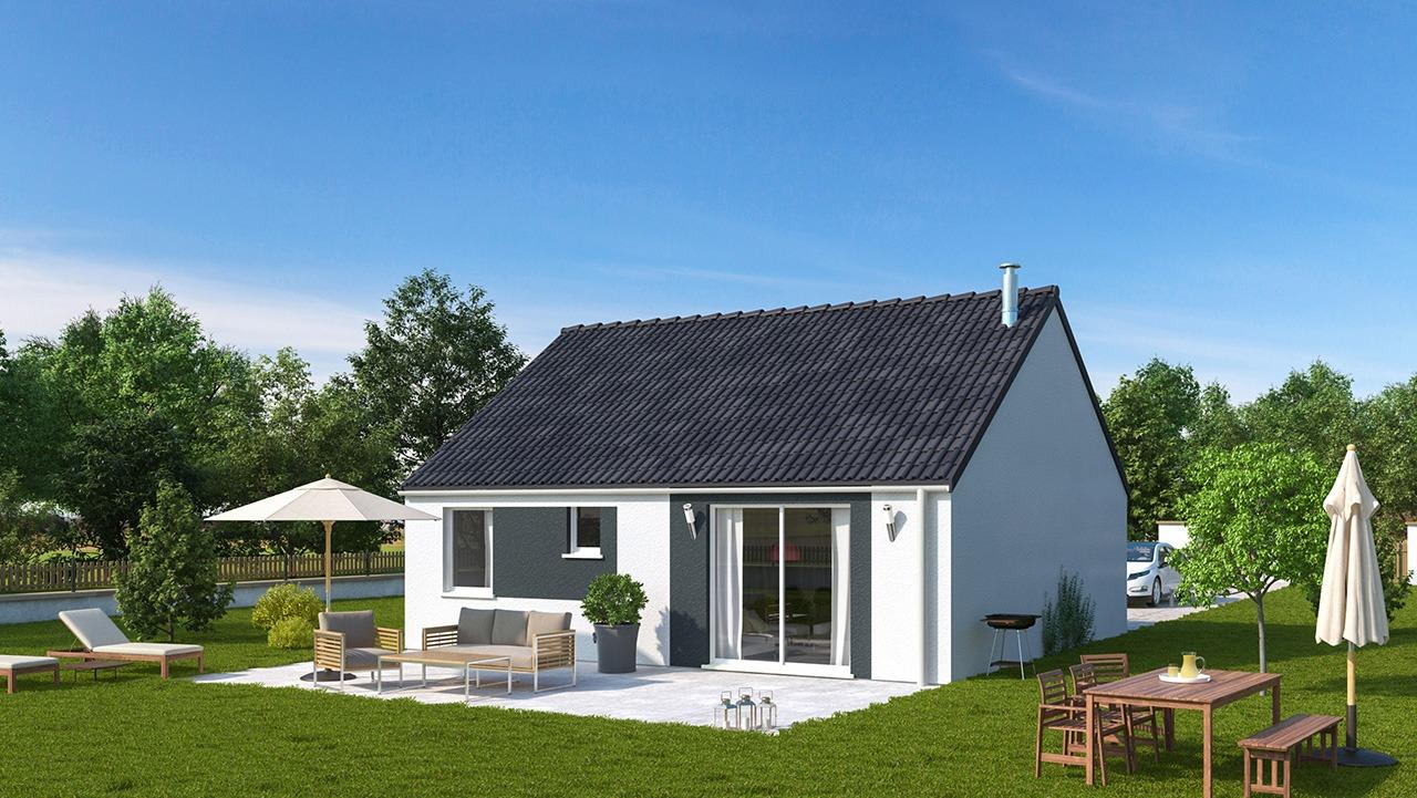 Maisons + Terrains du constructeur MAISONS PHENIX LEZENNES • 70 m² • LESQUIN