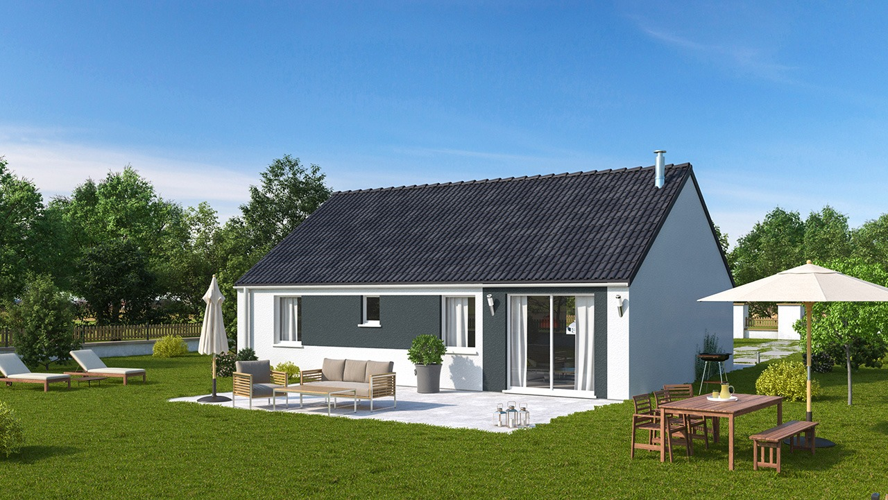 Maisons + Terrains du constructeur MAISONS PHENIX LEZENNES • 74 m² • THUMERIES
