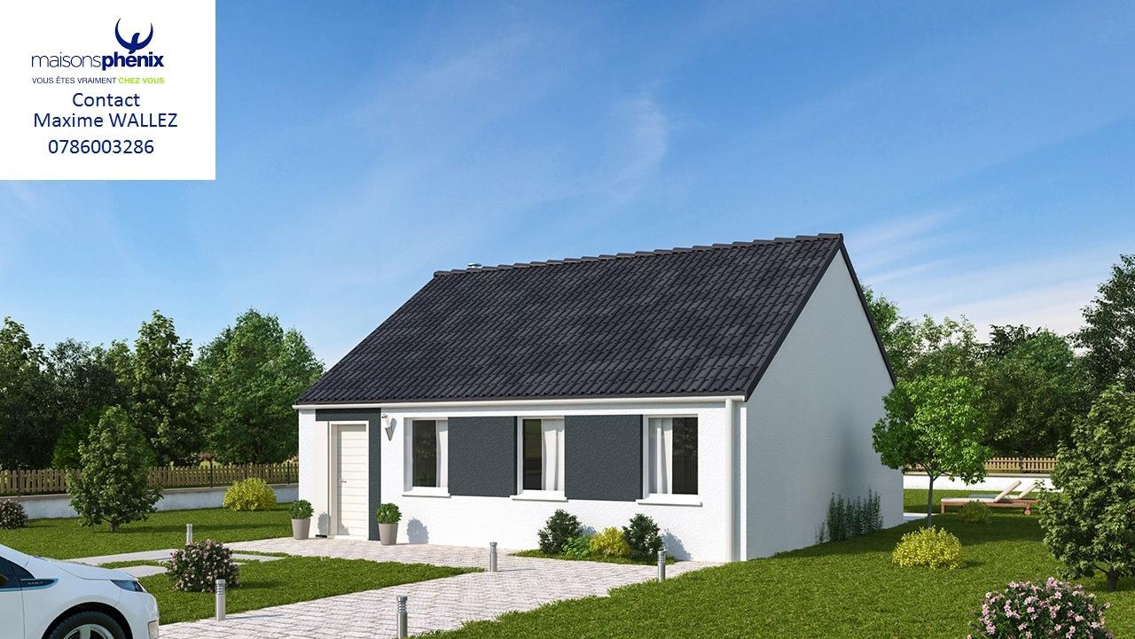 Maisons + Terrains du constructeur MAISONS PHENIX LEZENNES • 70 m² • SECLIN