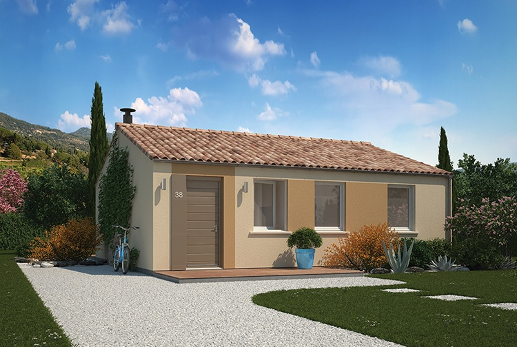 Maisons + Terrains du constructeur MAISONS PHENIX ROQUEBRUNE SUR ARGENS • 70 m² • LES ARCS