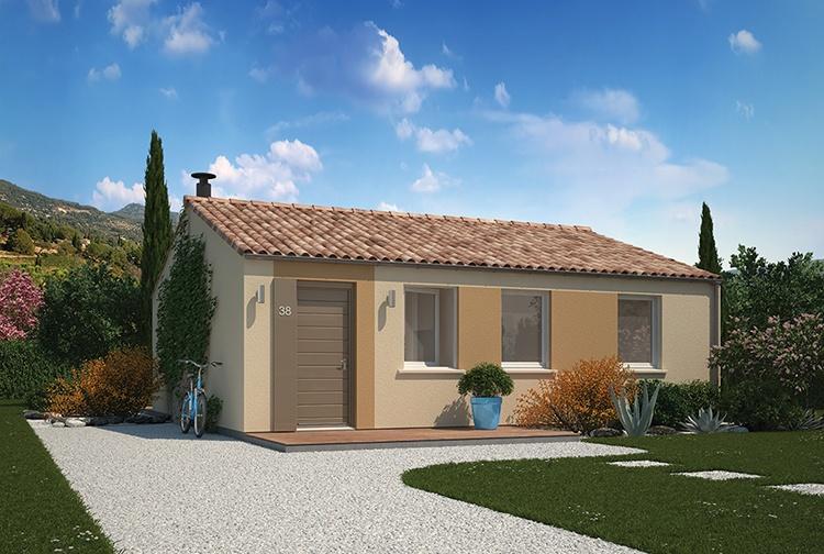 Maisons + Terrains du constructeur MAISONS PHENIX ROQUEBRUNE SUR ARGENS • 70 m² • LE MUY