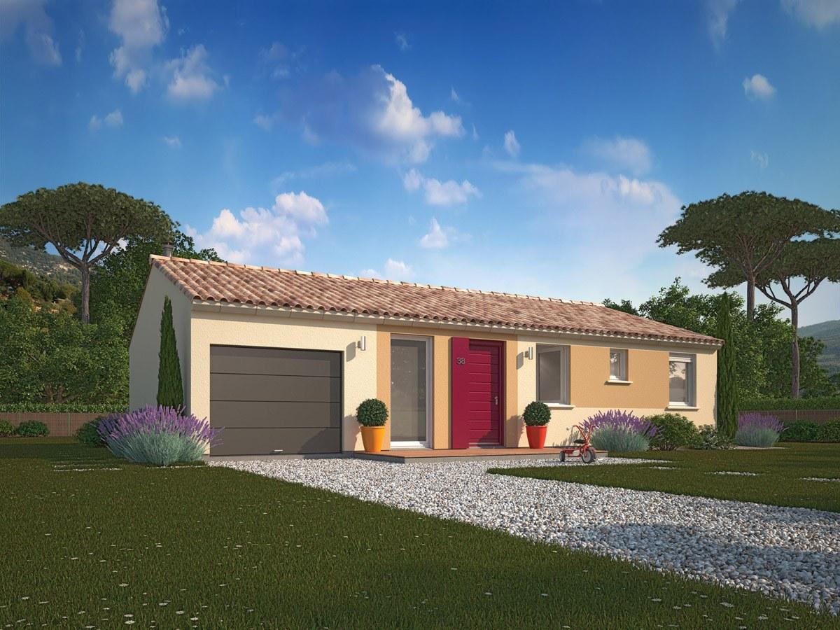Maisons + Terrains du constructeur MAISONS PHENIX ROQUEBRUNE SUR ARGENS • 89 m² • LORGUES