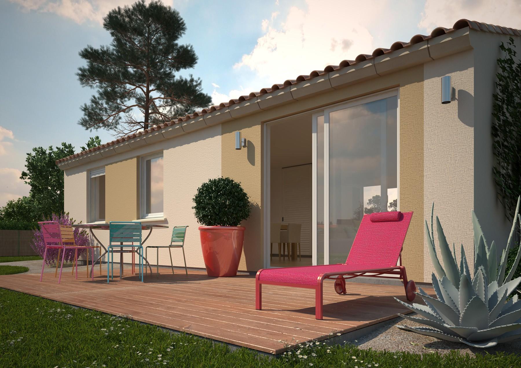 Maisons + Terrains du constructeur MAISONS PHENIX ROQUEBRUNE SUR ARGENS • 99 m² • LORGUES