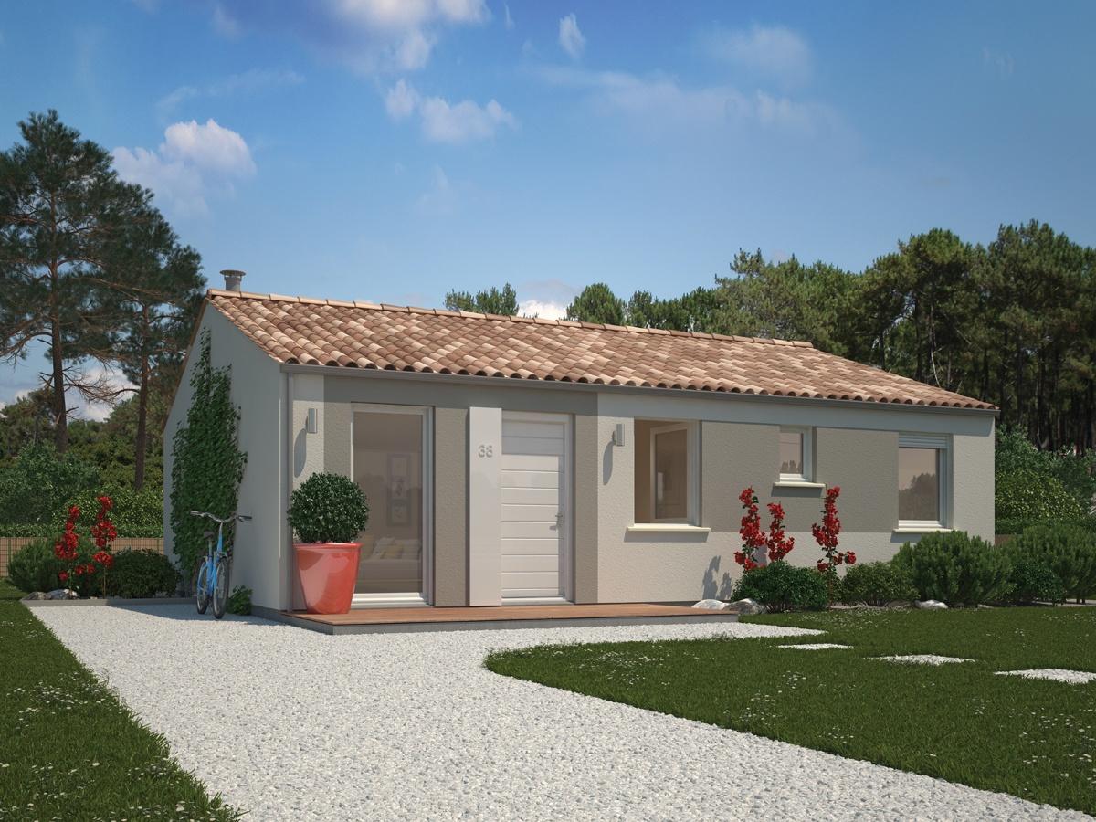 Maisons + Terrains du constructeur MAISONS PHENIX ROQUEBRUNE SUR ARGENS • 80 m² • LE MUY