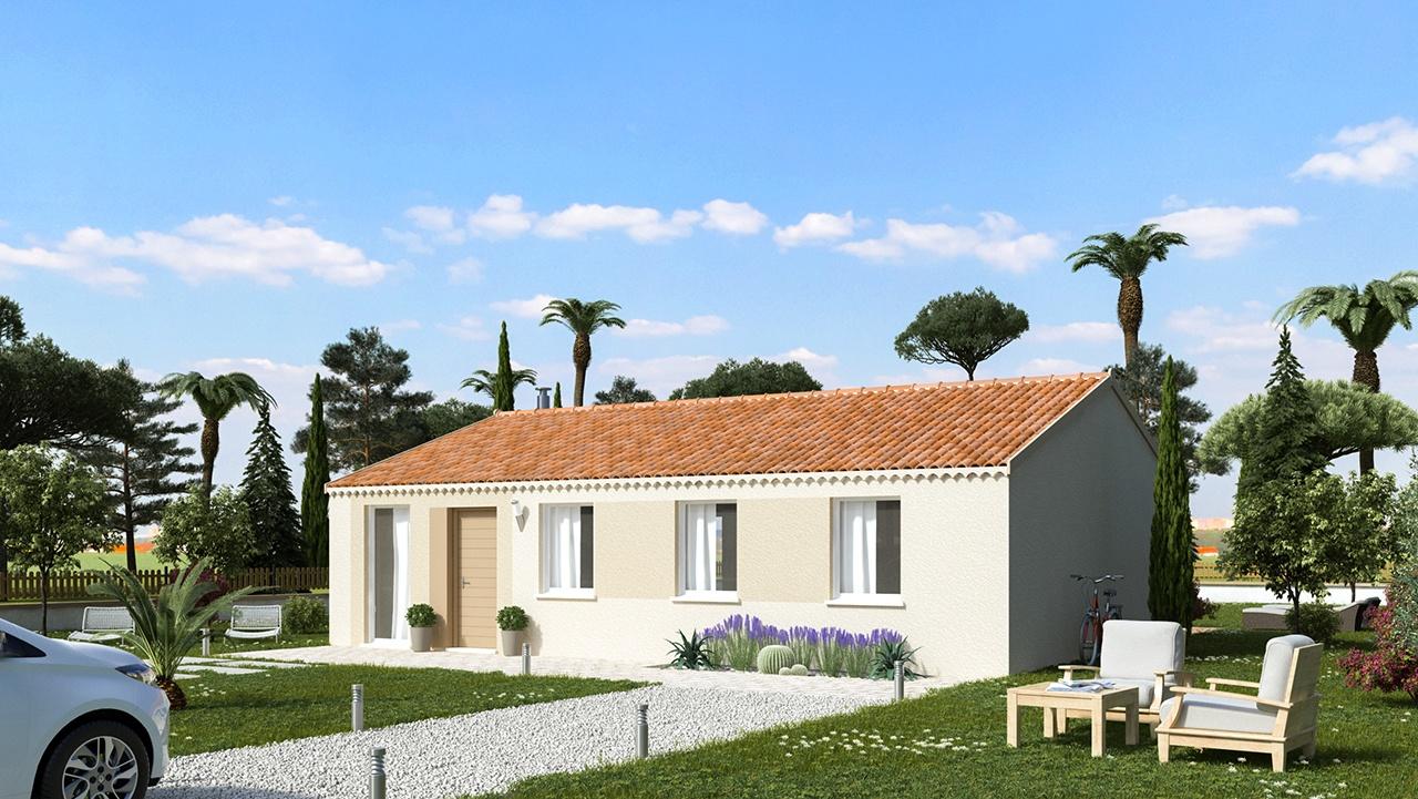 Maisons + Terrains du constructeur MAISONS PHENIX ROQUEBRUNE SUR ARGENS • 89 m² • TOURRETTES