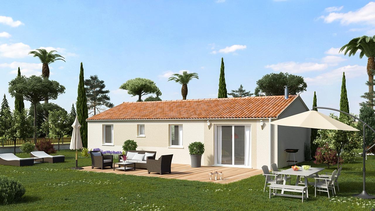 Maisons + Terrains du constructeur MAISONS PHENIX ROQUEBRUNE SUR ARGENS • 89 m² • LE MUY