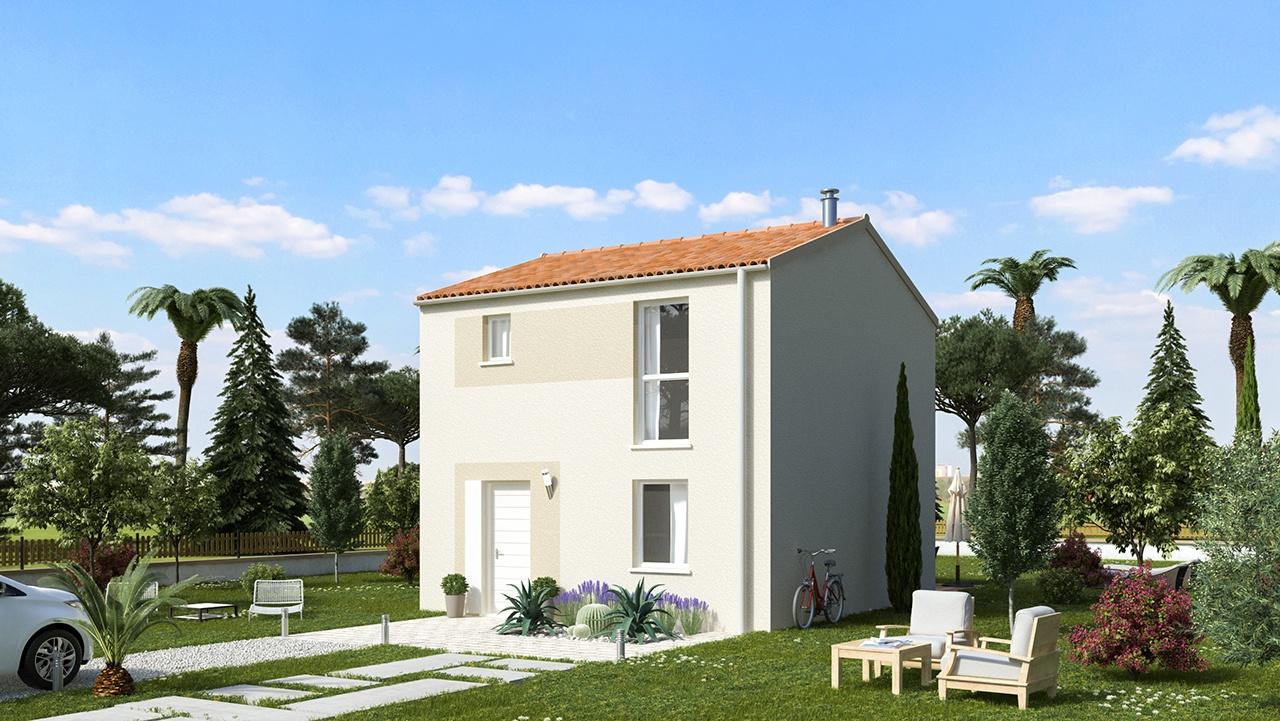 Maisons + Terrains du constructeur MAISONS PHENIX ROQUEBRUNE SUR ARGENS • 82 m² • LES ARCS