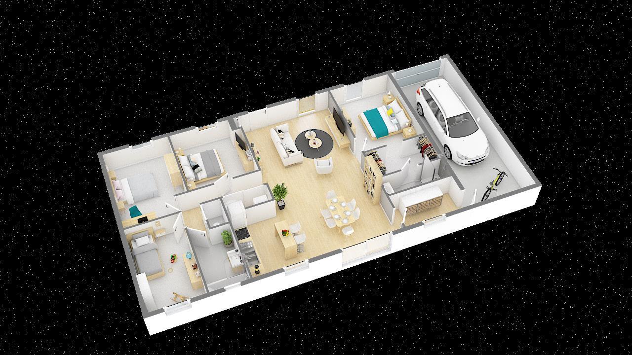 Maisons + Terrains du constructeur MAISONS PHENIX ROQUEBRUNE SUR ARGENS • 109 m² • CALLIAN