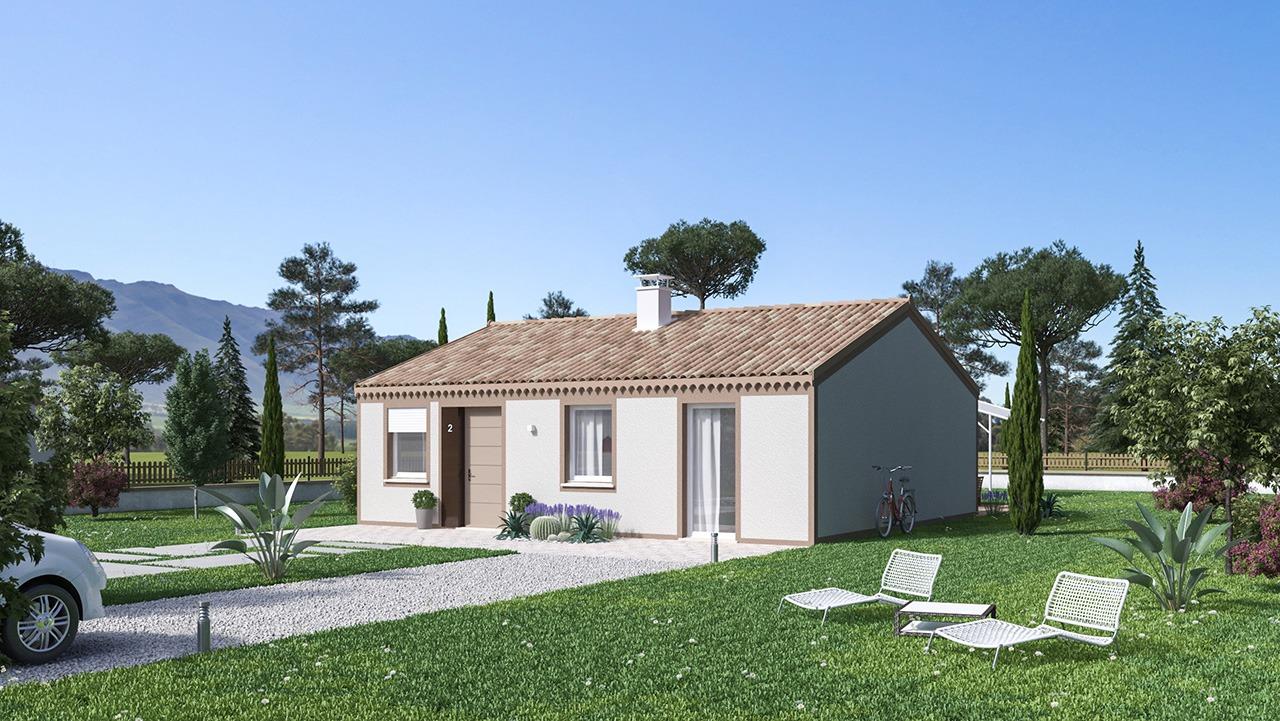 Maisons + Terrains du constructeur MAISONS PHENIX ROQUEBRUNE SUR ARGENS • 75 m² • LES ARCS