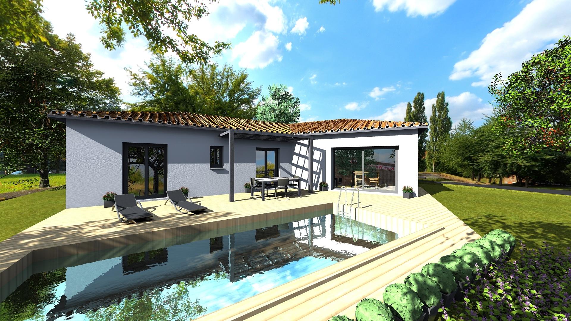Maisons du constructeur VILLAS SUD CREATION • 125 m² • TOULOUSE