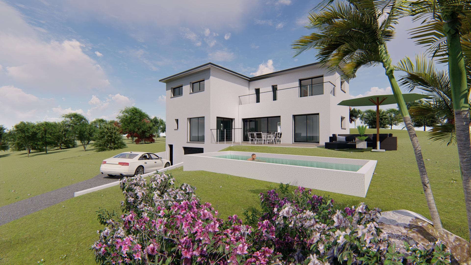 Maisons + Terrains du constructeur VILLAS SUD CREATION • 200 m² • COLOMIERS