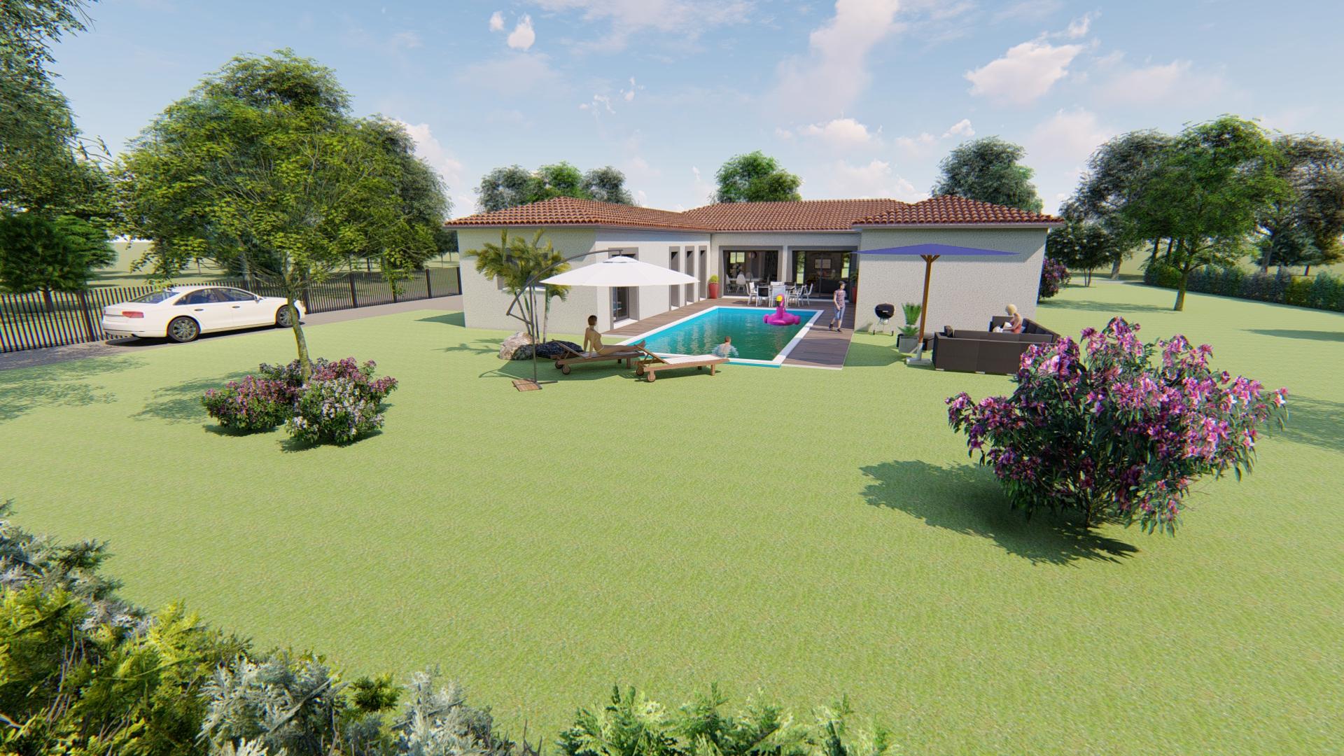 Maisons + Terrains du constructeur VILLAS SUD CREATION • 172 m² • CASTANET TOLOSAN