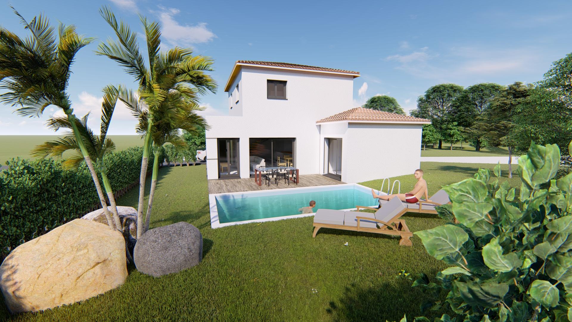 Maisons + Terrains du constructeur VILLAS SUD CREATION • 125 m² • CASTANET TOLOSAN