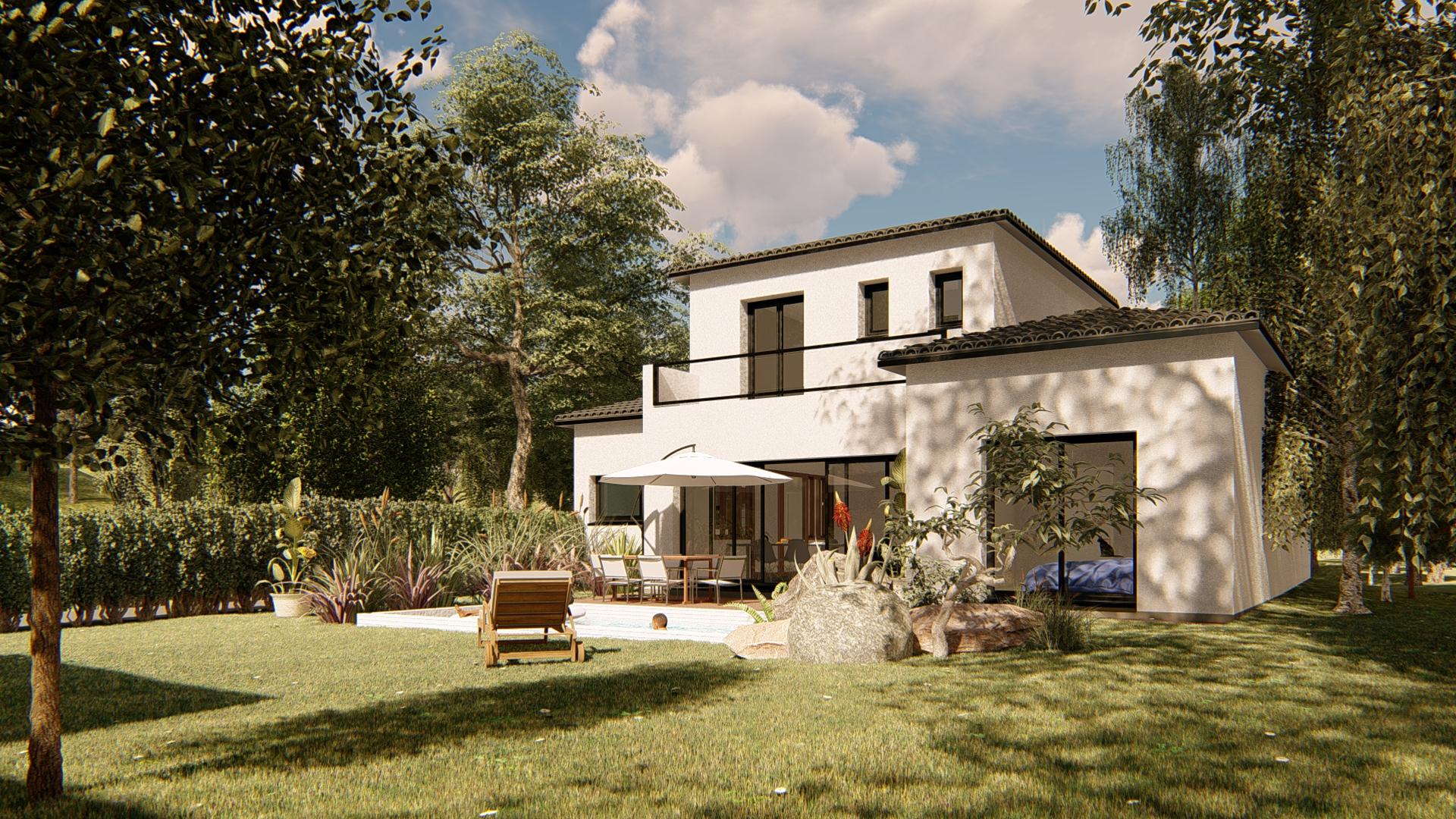 Maisons + Terrains du constructeur VILLAS SUD CREATION • 140 m² • LANTA