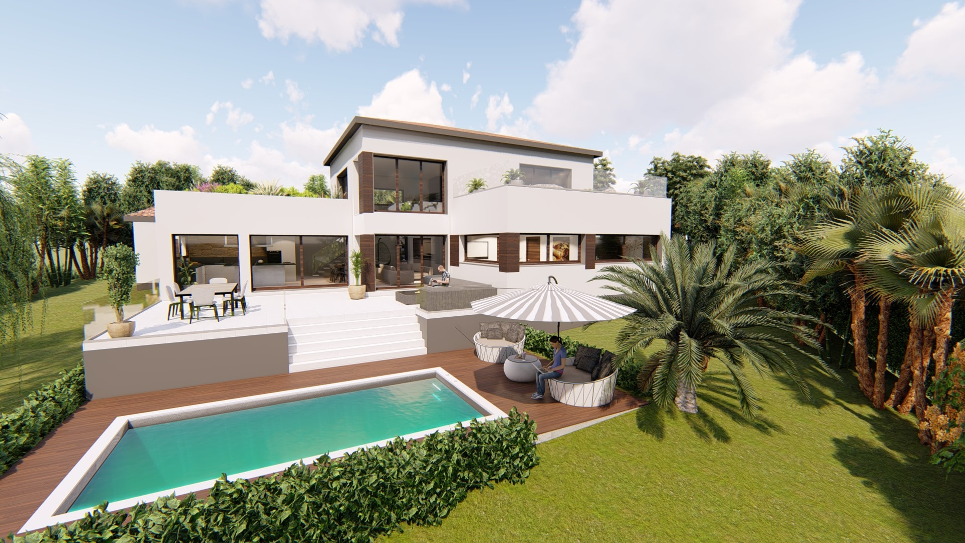 Maisons + Terrains du constructeur VILLAS SUD CREATION • 177 m² • CASTANET TOLOSAN