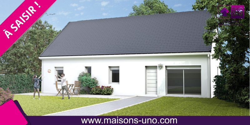 Maisons du constructeur MAISONS UNO • 95 m² • SAINT ANTOINE DU ROCHER