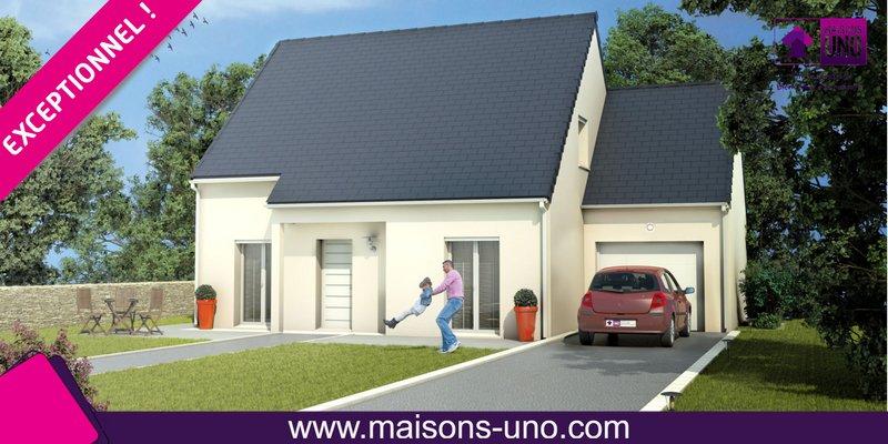 Maisons du constructeur MAISONS UNO • 108 m² • REUGNY