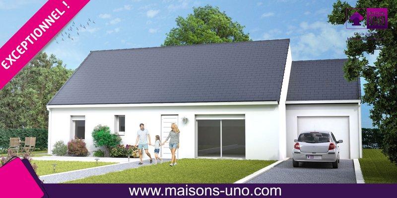 Maisons du constructeur MAISONS UNO • 80 m² • CIVRAY DE TOURAINE
