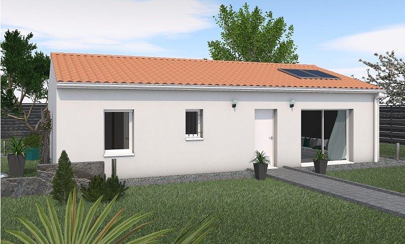 Maisons du constructeur MAISONS UNO • 80 m² • LES ORMES
