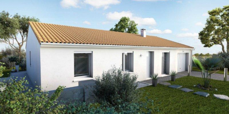 Maisons du constructeur MAISONS UNO • 82 m² • LEIGNE LES BOIS