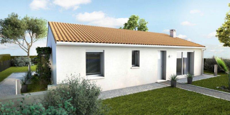 Maisons du constructeur MAISONS UNO • 82 m² • NOUAILLE MAUPERTUIS
