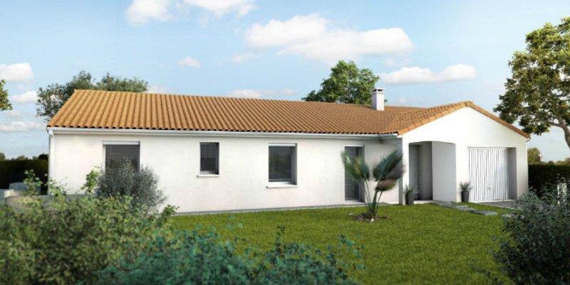 Maisons du constructeur MAISONS UNO • 98 m² • VOUNEUIL SUR VIENNE