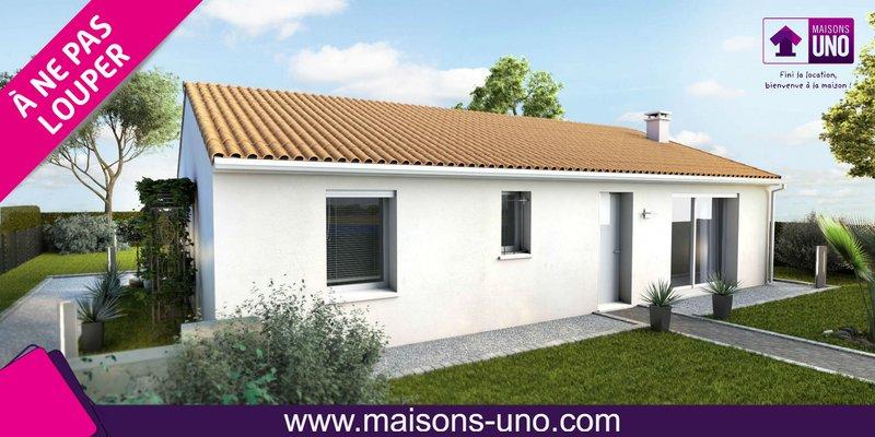 Maisons du constructeur MAISONS UNO • 95 m² • SMARVES