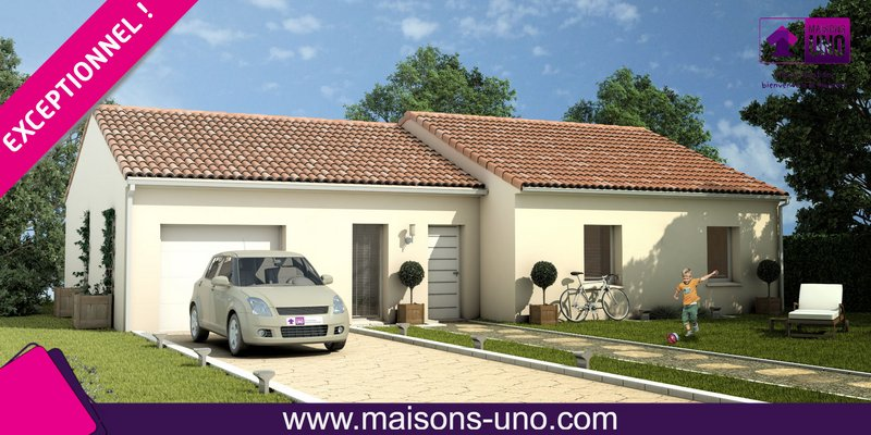 Maisons du constructeur MAISONS UNO • 89 m² • MONCONTOUR