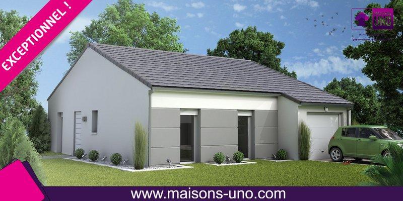Maisons du constructeur MAISONS UNO • 74 m² • COULOMBIERS