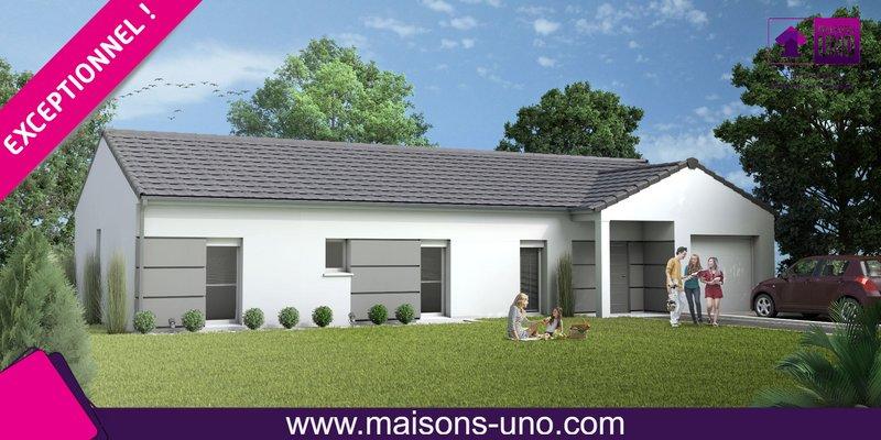 Maisons du constructeur MAISONS UNO • 80 m² • VOUNEUIL SOUS BIARD
