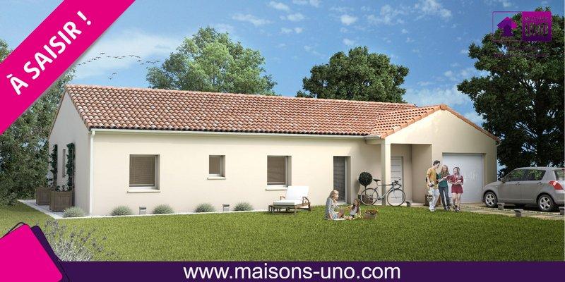 Maisons du constructeur MAISONS UNO • 99 m² • SMARVES