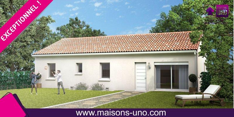 Maisons du constructeur MAISONS UNO • 82 m² • ROCHES PREMARIE ANDILLE